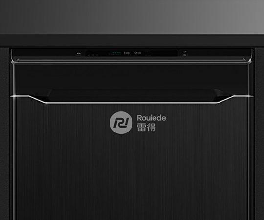 雷得电磁炉品牌形象改造logo设计2
